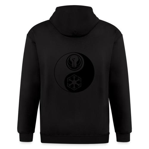Star Wars SWTOR Yin Yang 1-Color Dark - Men's Zip Hoodie