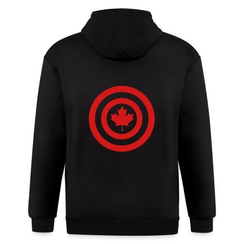 Captain Canada - Men's Zip Hoodie