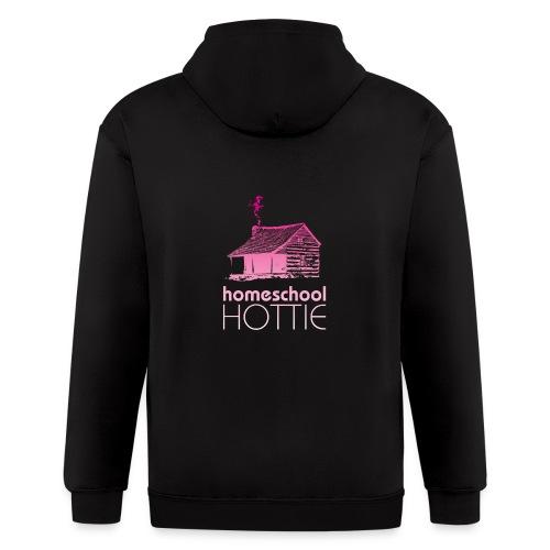 Homeschool Hottie PW - Men's Zip Hoodie