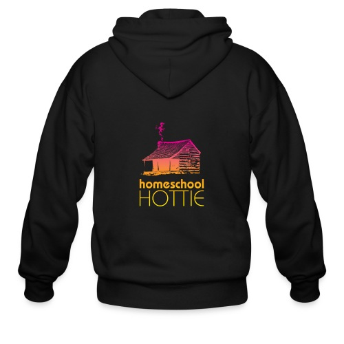 Homeschool Hottie PY - Men's Zip Hoodie