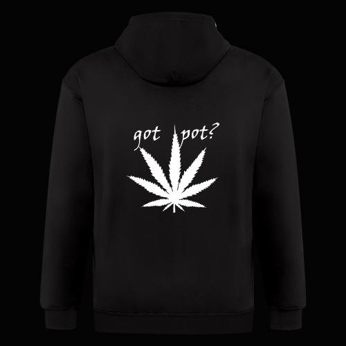 got pot? - Men's Zip Hoodie