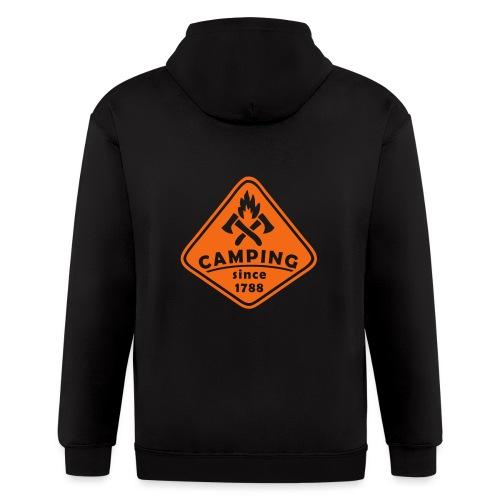 Campfire - Men's Zip Hoodie