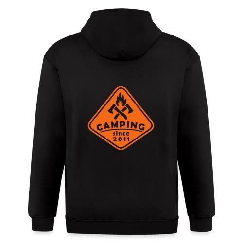 Campfire 2011 - Men's Zip Hoodie