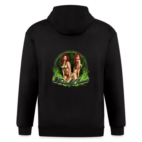 Maria y Juana by RollinLow - Men's Zip Hoodie