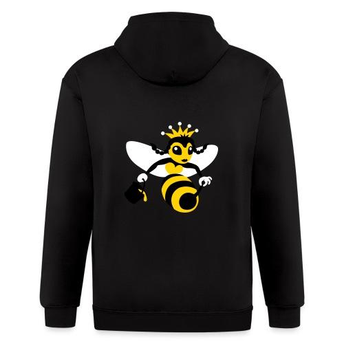 Queen Bee - Men's Zip Hoodie