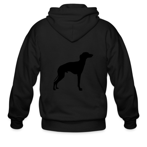 Italian Greyhound - Men's Zip Hoodie