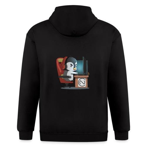 TNC Penguin - Men's Zip Hoodie