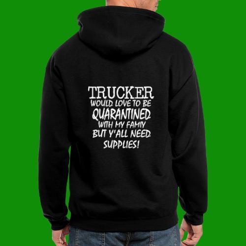 Trucker Supplies - Men's Zip Hoodie
