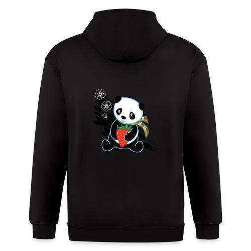 Cute Kawaii Panda T-shirt by Banzai Chicks - Men's Zip Hoodie