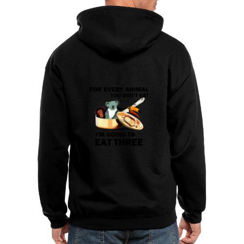Every Animal Maddox T-Shirts - Men's Zip Hoodie
