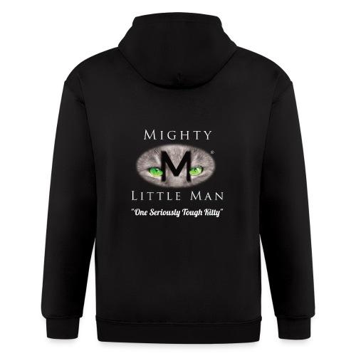 MIGHTY LITTLE MAN Logo - Men's Zip Hoodie