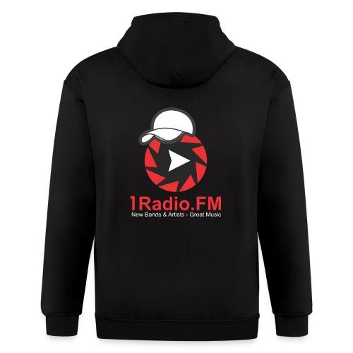 1Radio.fm Unisex hoodie - Men's Zip Hoodie