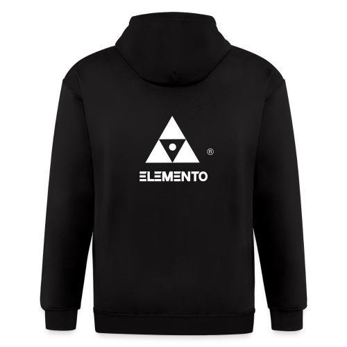 Official logo of ELEMENTO® Arts - Men's Zip Hoodie