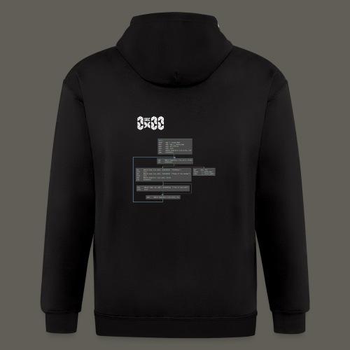 0x00sec Disassembled - Concept Mk1 - WIP - Men's Zip Hoodie