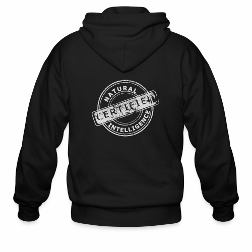 Natural Intelligence inside - Men's Zip Hoodie