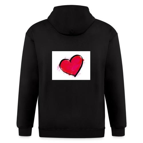 heart 192957 960 720 - Men's Zip Hoodie