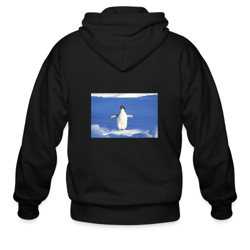 Mr. Penguin - Men's Zip Hoodie
