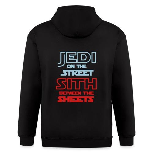 Jedi Sith Awesome Shirt - Men's Zip Hoodie