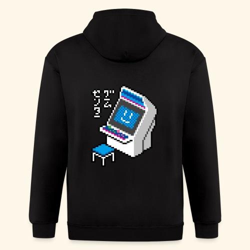 Pixelcandy_BC - Men's Zip Hoodie