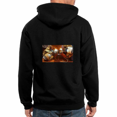 Pipeliners Down Under - Men's Zip Hoodie