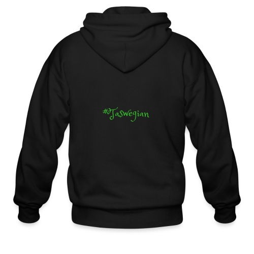 Taswegian Green - Men's Zip Hoodie