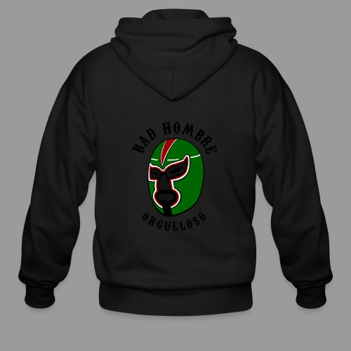 Proud Bad Hombre (Bad Hombre Orgulloso) - Men's Zip Hoodie