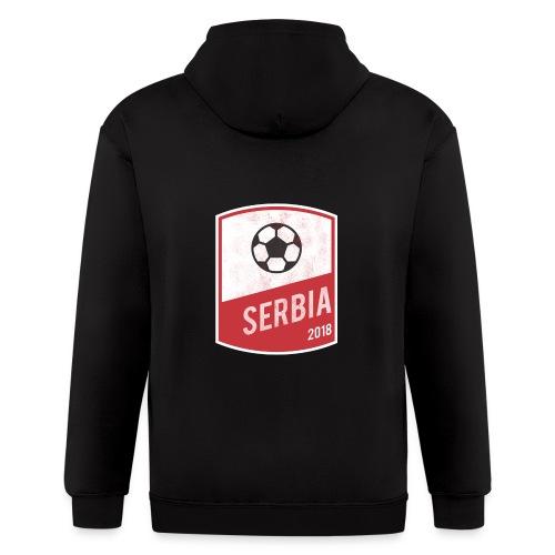 Serbia Team - World Cup - Russia 2018 - Men's Zip Hoodie