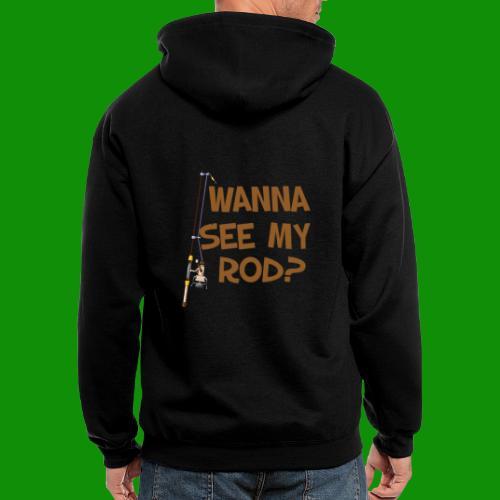 Wanna See My Rod? - Men's Zip Hoodie