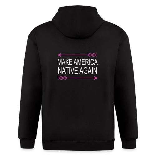 MakeAmericaNativeAgain - Men's Zip Hoodie