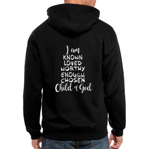 Known Loved Enough Chosen - Men's Zip Hoodie