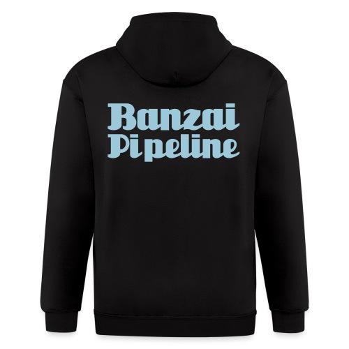 The Legendary Banzai Pipeline - North Shore - Oahu - Men's Zip Hoodie