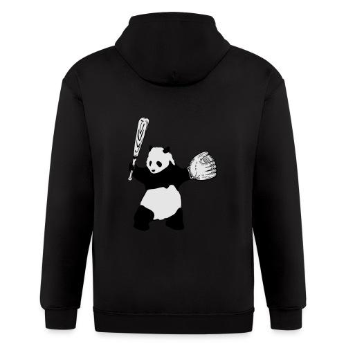 Panda Baseball - Men's Zip Hoodie