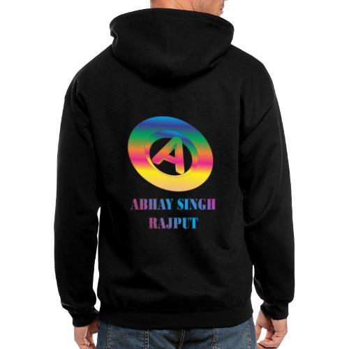 abhay - Men's Zip Hoodie