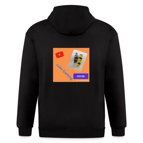 Luke Gaming T-Shirt - Men's Zip Hoodie