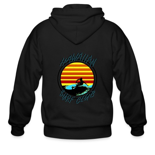 Hawaiian Surf Club - Men's Zip Hoodie