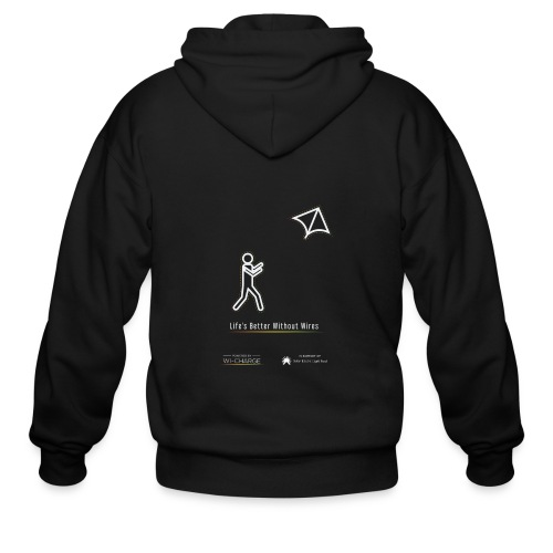 Life's better without wires: Kite - SELF - Men's Zip Hoodie