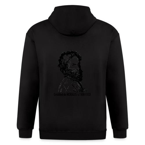 Morales Portrait - Men's Zip Hoodie