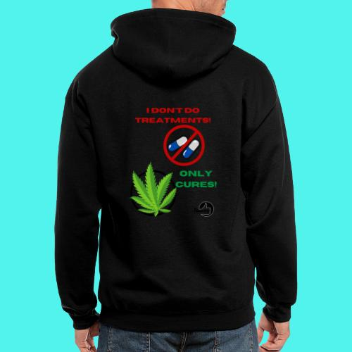 BMG- No treatments..Only Cures! - Men's Zip Hoodie