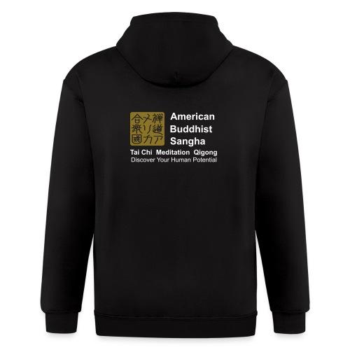 American Buddhist Sangha / Zen Do USA - Men's Zip Hoodie