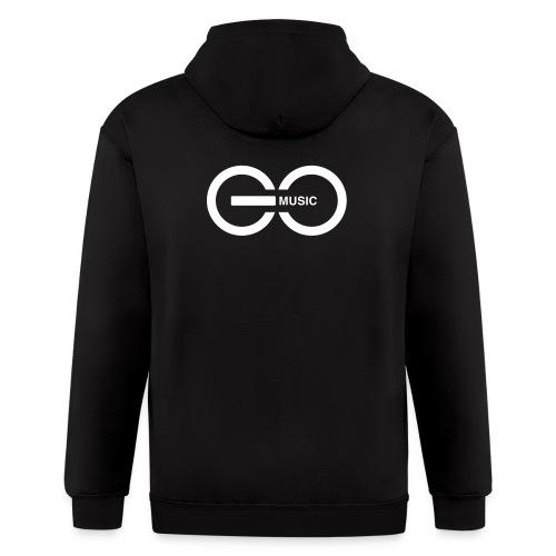 GOMusic logo - Men's Zip Hoodie