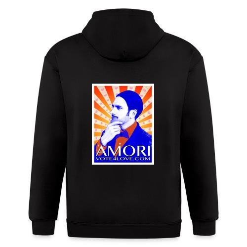Amori_poster_1d - Men's Zip Hoodie