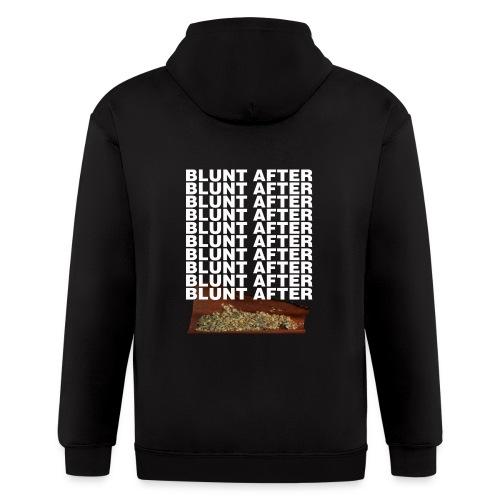 BLUNT AFTER BLUNT HOODIE - Men's Zip Hoodie