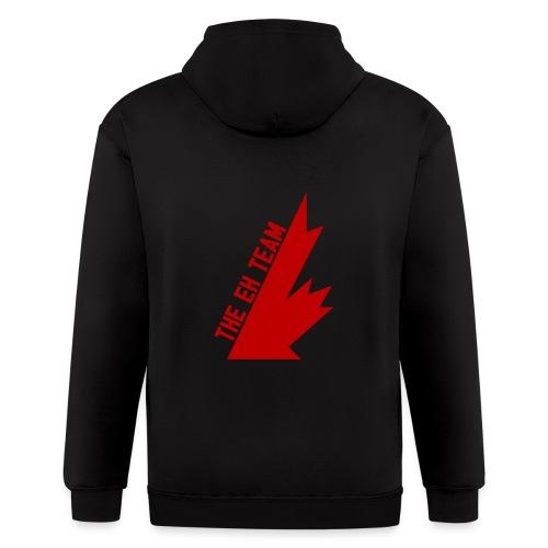 The Eh Team Red - Men's Zip Hoodie