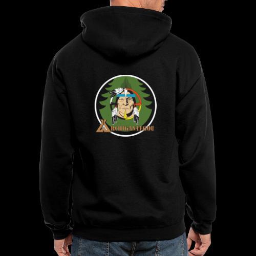 Archigantegou Logo Color - Men's Zip Hoodie