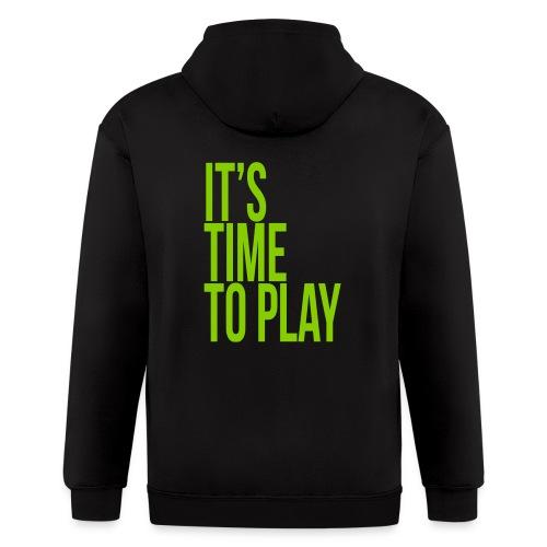 It's time to play - Men's Zip Hoodie