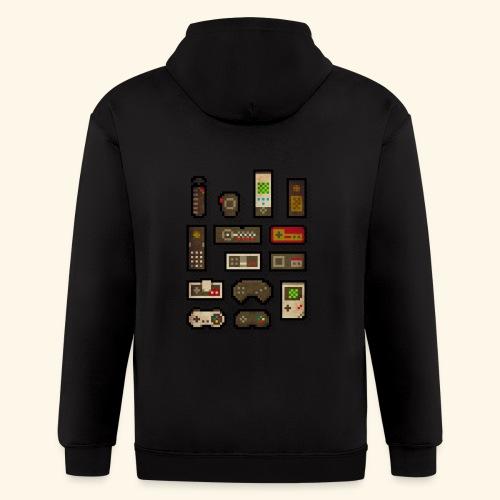 pixelcontrol - Men's Zip Hoodie
