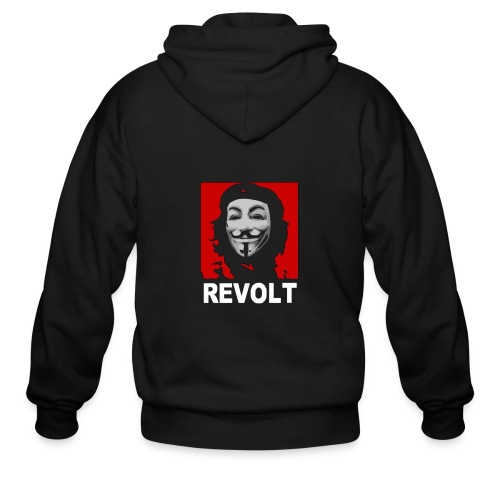 Anonymous Che Revolt Mugs & Drinkware - Men's Zip Hoodie