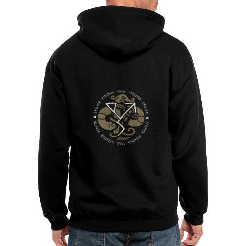 Witness True Sorcery Emblem (Alu, Alu laukaR!) - Men's Zip Hoodie