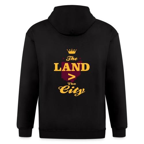 The Land Cleveland Pride - Men's Zip Hoodie