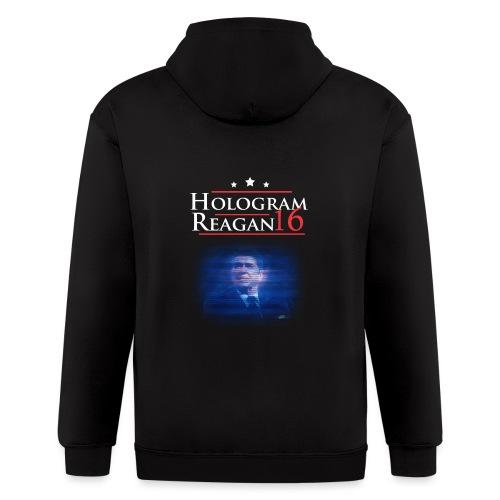 Hologram Reagan 2016 - Men's Zip Hoodie